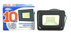 Прожектор светодиодный ТМ IONICH IFLSLED-DOB- 10-865-BL-IP65 - фото 6323