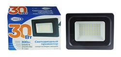 Прожектор светодиодный ТМ IONICH IFLSLED-DOB- 30-865-BL-IP65 - фото 6325