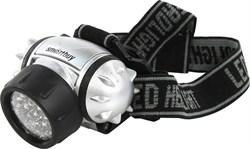 Фонарь  налобный 21 LED Smartbyu,черный - фото 6331