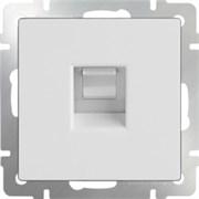 Телефонная розетка  RJ-11 (белая) WL01-RJ-11/10 1