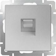 Розетка 1СП Ethernet RJ-45 серебрянный WL06-RJ-45/10
