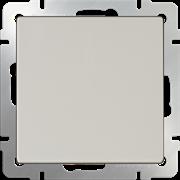 Выключатель одноклавишный (слоновая кость) WL03-SW-1G-ivory /10