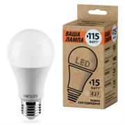 Лампа LED WOLTA 25S60BL15E27-P 4000K 25S60BL15E27-P