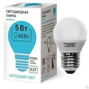 Светодиодная лампа  42LED-G45-7W-230-4000K-E27 Sweko