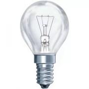 Лампа накал ДШ 60W E14 P45/CL прозрачная  ASD (100)