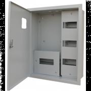 Щит учетно распределительный ЩРУН 3/36  (500х500х155) 2 двери с замком