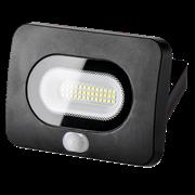 Светодиодный прожектор LFL-10W/05s, 5500K, LED, IP 65  с датчиком