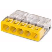 Зажим безвинтовой WAGO 2273-245  с пастой (100шт) 2273-245