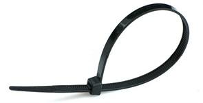 Хомут д/крепл кабеля 200*4 черный (100) КСС