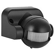 Датчик движения инфрокрасный ДД-009-В 1200 Вт 180гр.12м IP44 черный ASD 1200 Вт 180гр.12м IP44