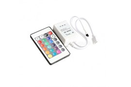 Контроллер LED RGB инфрокрасный 24 кнопки ,6А IP20 SBL-RGB-28