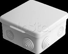 Коробка распаячная для подштукатурного монтажа 100*100*50/60 шт.уп 010-006
