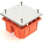 Коробка СП 60/60 распред. для бетона черная с соединением