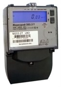Счетчик электроэнергии Меркурий 203.2T RBO 5-60А; 230В; кл.т. 1,0 (оптопорт; RS-485; ЖКИ; 3 винта)