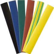 Трубка ТУТ 12/6 набор 7цветов по 3шт 10см SBE-HST-12