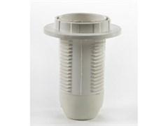 Электропатрон Е14-ППК пластиковый с прижимным кольцом ASD/10 белый