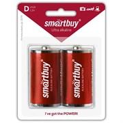 Батарейка алкалиновая Smartbuy LR20/2B (12/96) (SBBA-D02B) SBBA-D02B