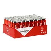 Батарейка алкалиновая Smartbuy LR6/40S (10/400)  (SBBA-2A10B) SBBA-2A40S