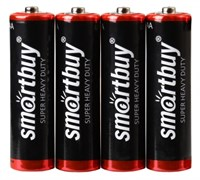 Батарейка солевая Smartbuy R03/4S (60/600)  (SBBZ-3A04S) SBBZ-3A04S