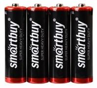 Батарейка солевая Smartbuy R6/4S (60/600)  (SBBZ-2A04S) SBBZ-2A04S