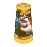 """Настольный светильник-туба, серии """"RIO"""", лампочка 15 Вт (входит в комплект), цоколь Е14. Питание от 220В. Цвет корпуса - желтый. Упаковка - картонная коробка.RIO1-26 YELLOW TLI-270"""