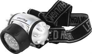 Фонарь  налобный 21 LED Smartbyu,черный