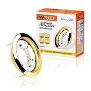 Светильник встраиваемый под лампу DJ01-GOLD ЗОЛОТО WOLTA DJ01GD-DL50GX53
