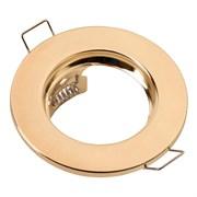 Cветильник  точечн.GCL-MR16-A-G золото плоские 436400
