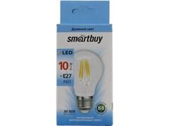Лампа свет.LED  FIL Smartbuy-A60-10W/4000/Е27 SBL-A60F-10-40K-E27