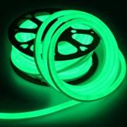 "Лента ""Гибкий Неон"" GLS-2835-120-9.6-220-NL-IP67-G зеленый катушка 50м + шнур питания 504311"