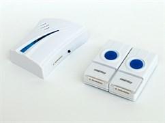 Звонок дверной беспроводной с цифр. код., IP44, один  динамик,две  кнопки SBE-12-DP4-32