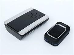 Звонок дверной беспроводной с цифр. код., IP44, подсветкой, рег-кой громкости звука SBE-11-DP6-25