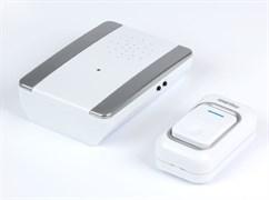 Звонок дверной беспроводной с цифр. код., IP44, подсветкой, рег-кой громкости звука SBE-11-DP7-25